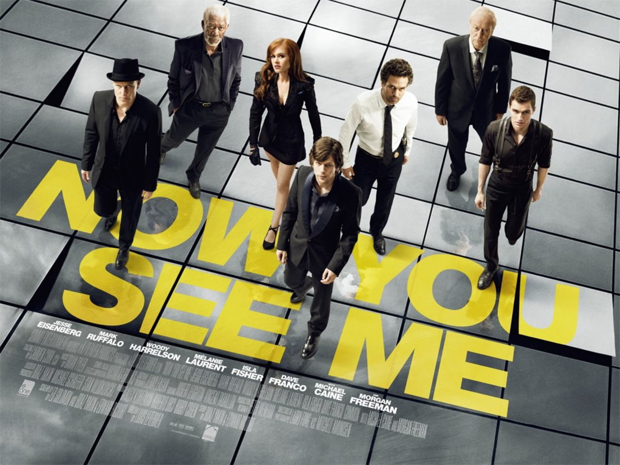 映画『グランド・イリュージョン (2013) NOW YOU SEE ME』ポスター(3)▼ポスター画像クリックで拡大します。