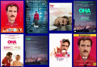 映画『her/世界でひとつの彼女 (2014) HER』ポスター(3) ▼ポスター画像クリックで拡大します。