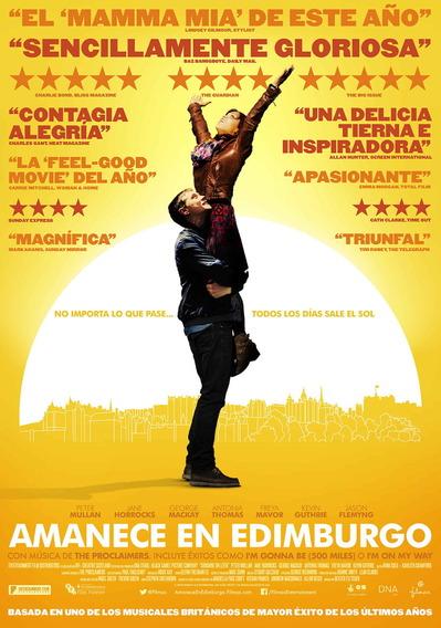 映画『サンシャイン/歌声が響く街 (2013) SUNSHINE ON LEITH』ポスター(3) ▼ポスター画像クリックで拡大します。