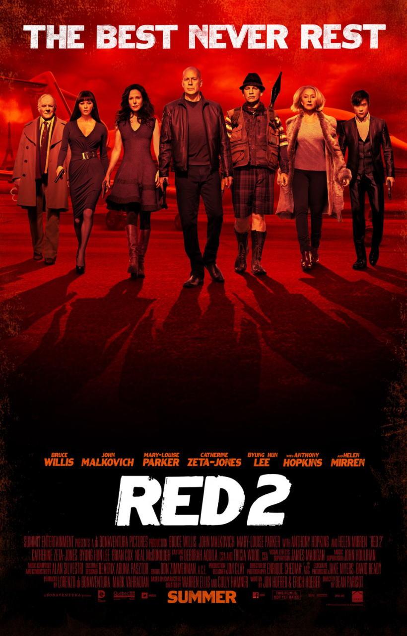映画『REDリターンズ (2013) RED 2』ポスター(3) ▼ポスター画像クリックで拡大します。