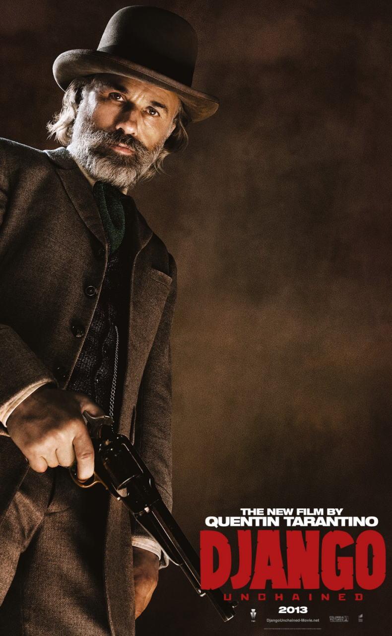 映画『ジャンゴ 繋がれざる者 (2012) DJANGO UNCHAINED』ポスター(7) ▼ポスター画像クリックで拡大します。