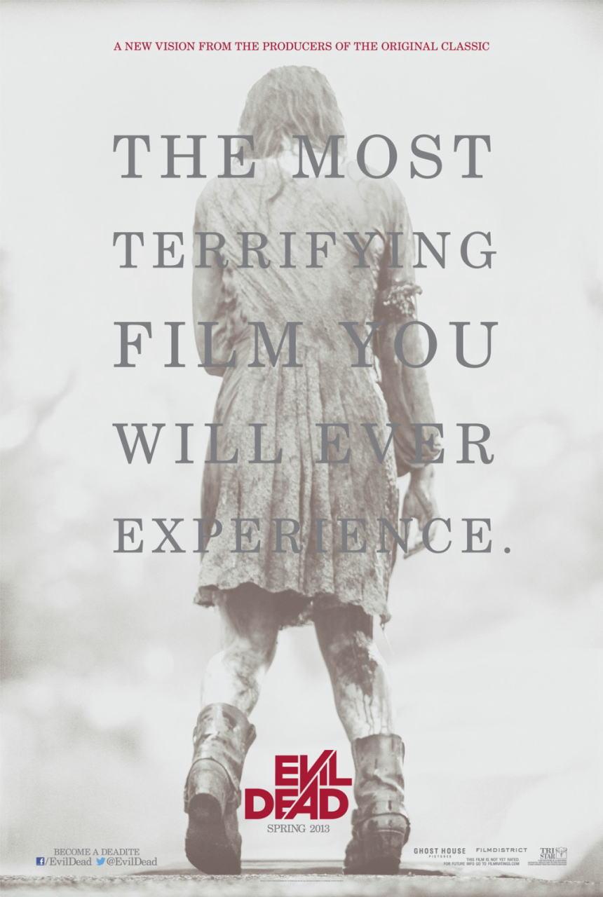 映画『死霊のはらわた EVIL DEAD』ポスター(2)▼ポスター画像クリックで拡大します。