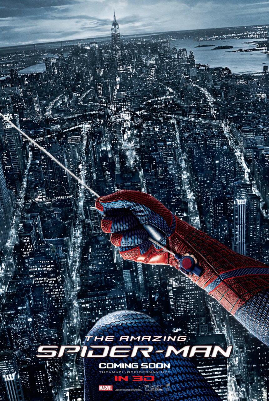 映画『アメイジング・スパイダーマン THE AMAZING SPIDER-MAN』ポスター(5) ▼ポスター画像クリックで拡大します。
