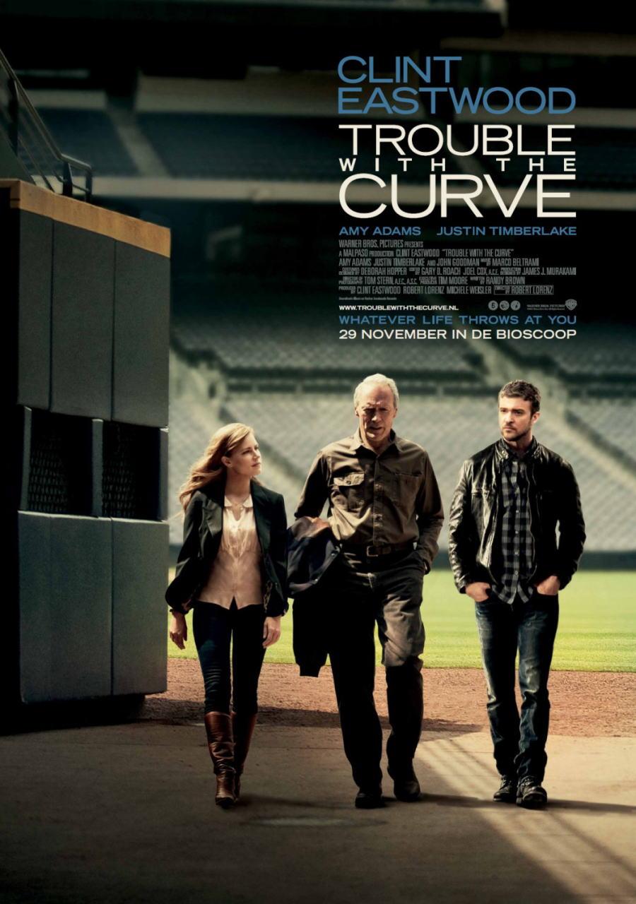 映画『人生の特等席 TROUBLE WITH THE CURVE』ポスター(3) ▼ポスター画像クリックで拡大します。