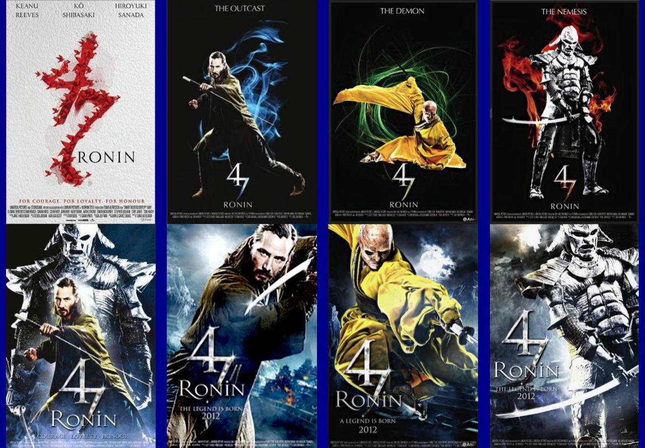 映画『47RONIN (2013) 47 RONIN』ポスター(4) ▼ポスター画像クリックで拡大します。