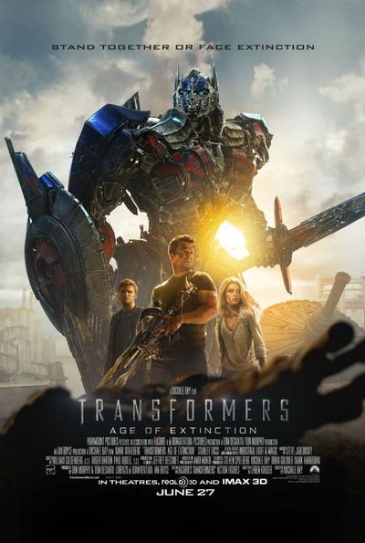 映画『トランスフォーマー/ロストエイジ (2014) TRANSFORMERS: AGE OF EXTINCTION』ポスター(1)▼ポスター画像クリックで拡大します。
