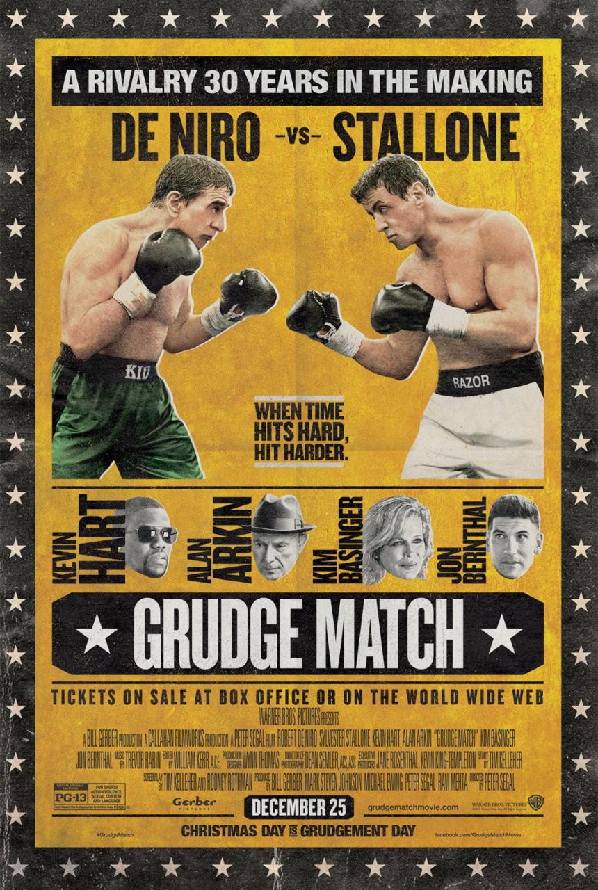 映画『リベンジ・マッチ (2013) GRUDGE MATCH』ポスター(1)▼ポスター画像クリックで拡大します。