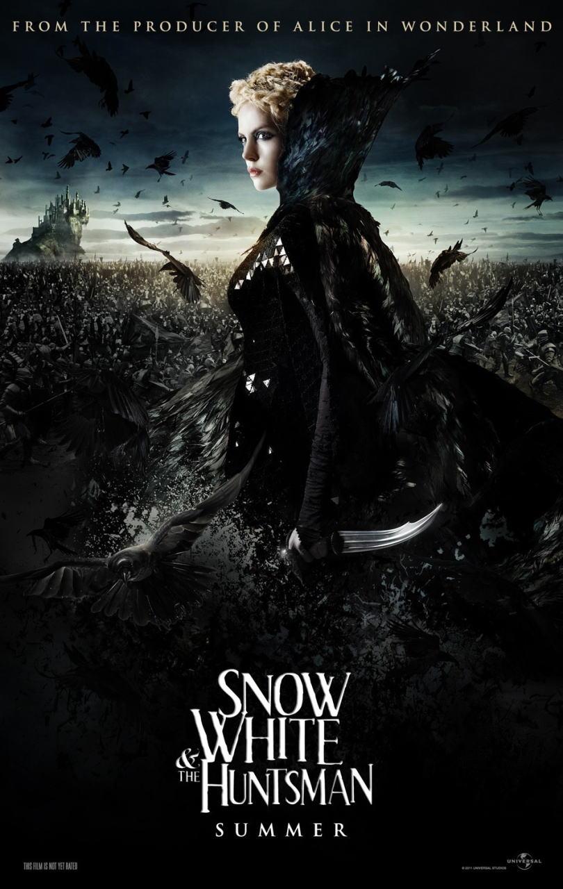 映画『スノーホワイト SNOW WHITE AND THE HUNTSMAN』ポスター(5) ▼ポスター画像クリックで拡大します。