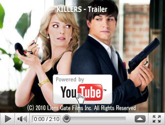 ※クリックでYouTube『キス&キル KILLERS/KISS & KILL』予告編へ