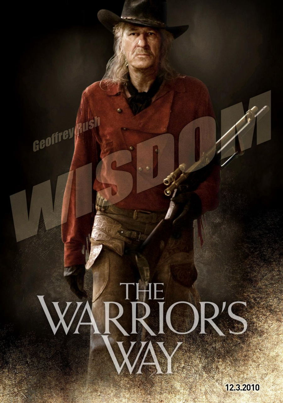 映画『決闘の大地で THE WARRIOR'S WAY』ポスター(5) ▼ポスター画像クリックで拡大します。