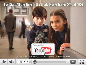 ※クリックでYouTube『スパイキッズ4D:ワールドタイム・ミッション SPY KIDS: ALL THE TIME IN THE WORLD』予告編へ