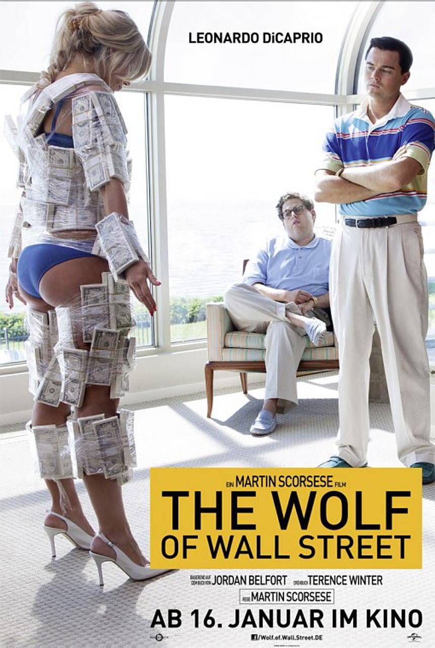 映画『ウルフ・オブ・ウォールストリート (2013) THE WOLF OF WALL STREET』ポスター(3) ▼ポスター画像クリックで拡大します。