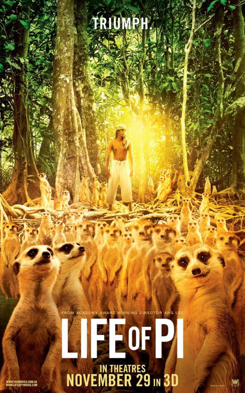 映画『ライフ・オブ・パイ/トラと漂流した227日 (2012) LIFE OF PI』ポスター(6)▼ポスター画像クリックで拡大します。