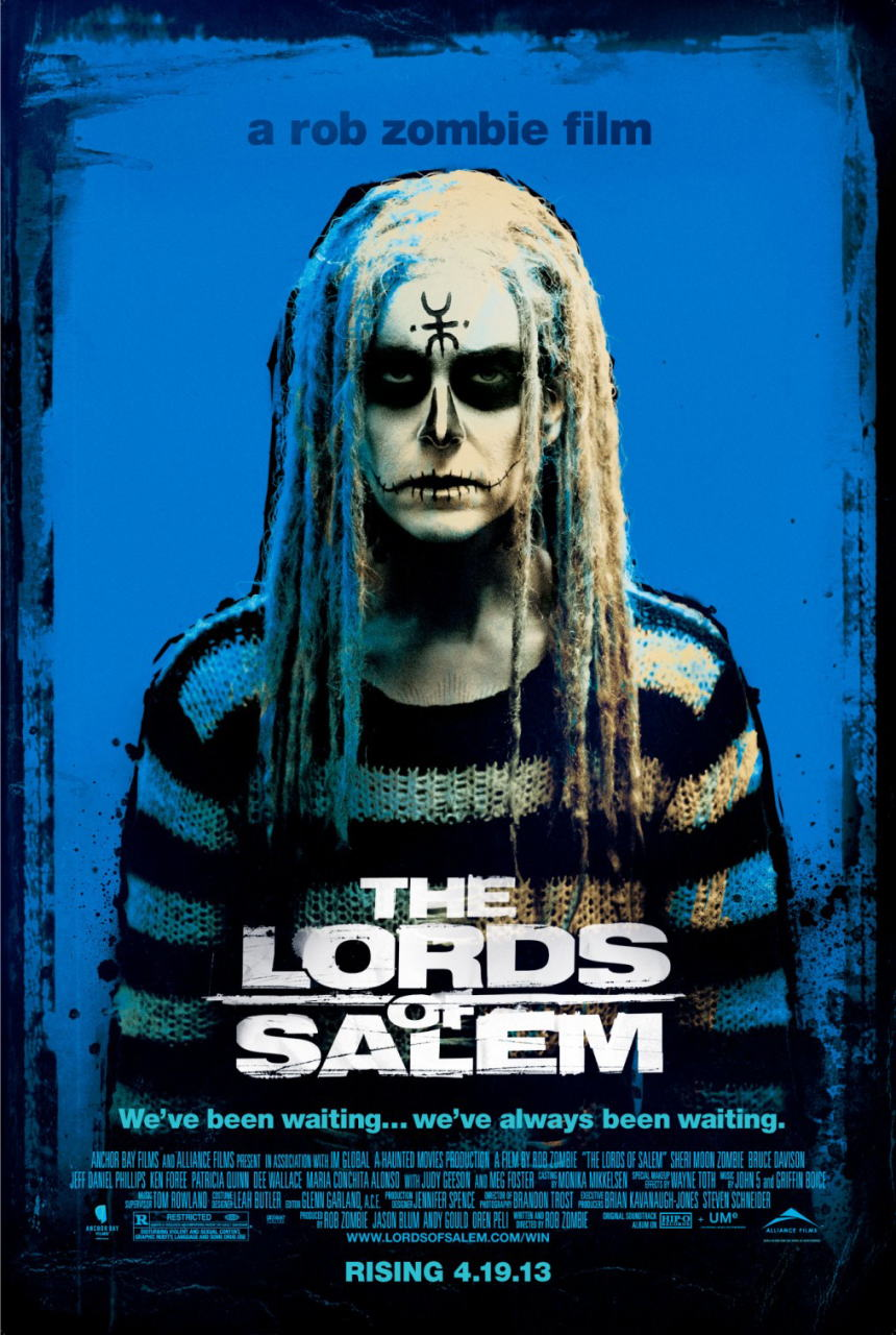 映画『ロード・オブ・セイラム (2012) THE LORDS OF SALEM』ポスター(2) ▼ポスター画像クリックで拡大します。