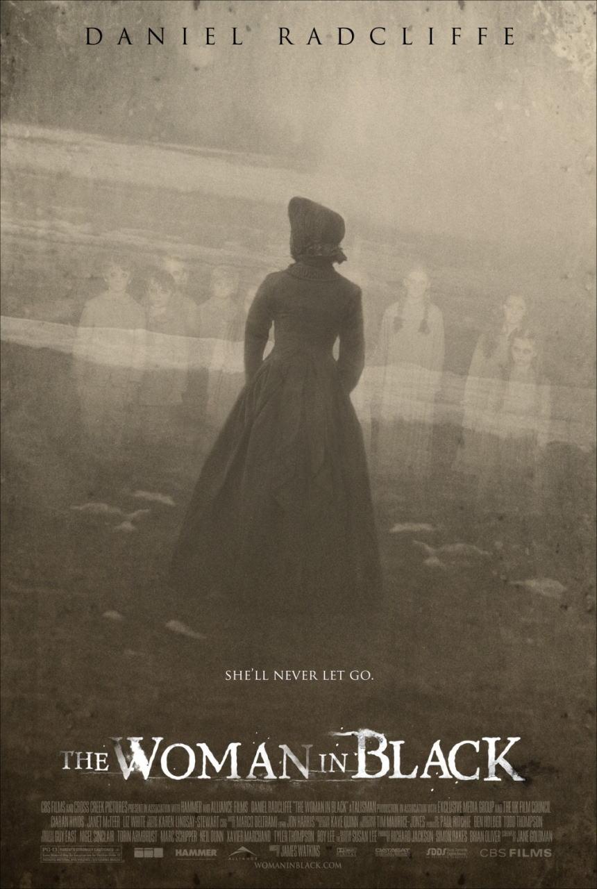 映画『ウーマン・イン・ブラック 亡霊の館 THE WOMAN IN BLACK』ポスター(1)▼ポスター画像クリックで拡大します。