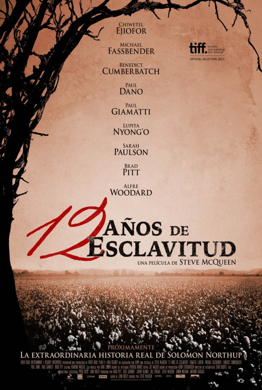 映画『それでも夜は明ける (2013) 12 YEARS A SLAVE』ポスター(3) ▼ポスター画像クリックで拡大します。