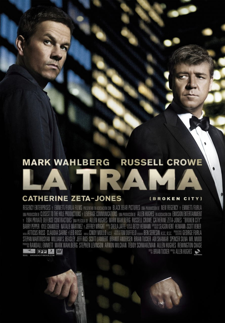 映画『ブロークンシティ (2012) BROKEN CITY』ポスター(2)▼ポスター画像クリックで拡大します。