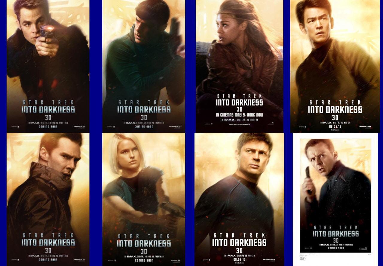 映画『スター・トレック イントゥ・ダークネス (2013) STAR TREK INTO DARKNESS』ポスター(6) ▼ポスター画像クリックで拡大します。