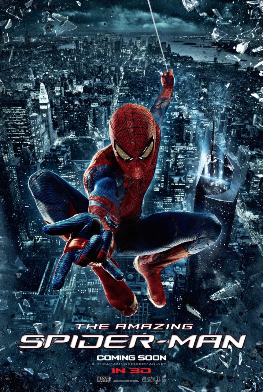 映画『アメイジング・スパイダーマン THE AMAZING SPIDER-MAN』ポスター(3) ▼ポスター画像クリックで拡大します。