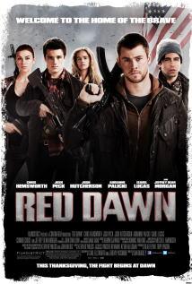 映画『 レッド・ドーン (2012) RED DAWN 』ポスター