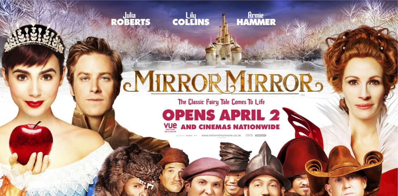 映画『白雪姫と鏡の女王 MIRROR MIRROR』ポスター(8) ▼ポスター画像クリックで拡大します。