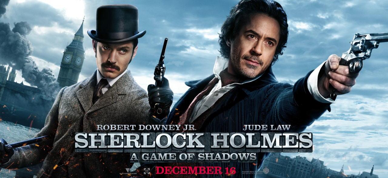 映画『シャーロック・ホームズ シャドウ ゲーム SHERLOCK HOLMES: A GAME OF SHADOWS』ポスター(2)