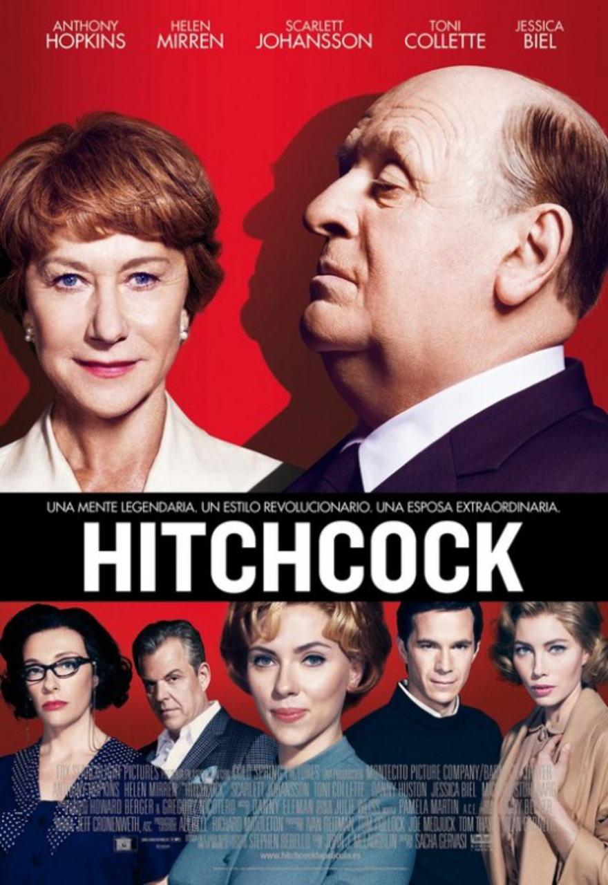 映画『ヒッチコック HITCHCOCK』ポスター(5)▼ポスター画像クリックで拡大します。