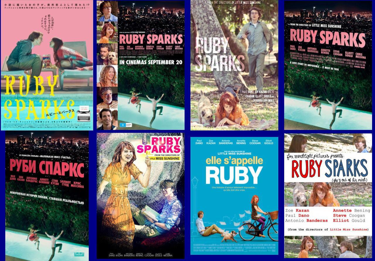 映画『ルビー・スパークス RUBY SPARKS』ポスター(4)▼ポスター画像クリックで拡大します。
