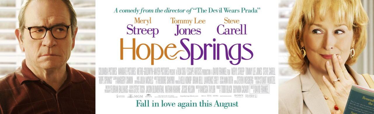 映画『31年目の夫婦げんか HOPE SPRINGS』ポスター(3)▼ポスター画像クリックで拡大します。