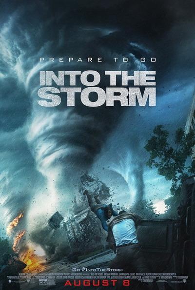 映画『イントゥ・ザ・ストーム (2014) INTO THE STORM』ポスター(1) ▼ポスター画像クリックで拡大します。