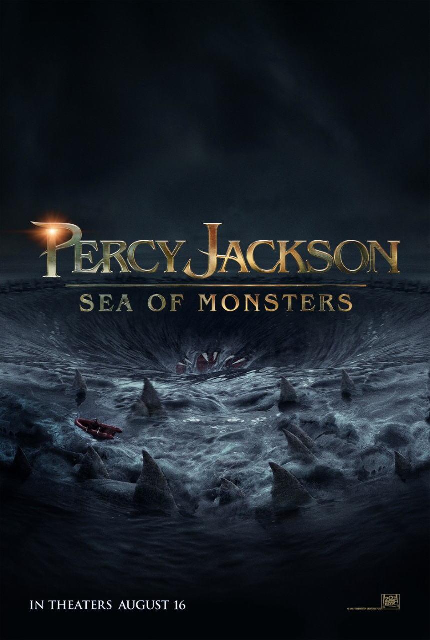 映画『パーシー・ジャクソンとオリンポスの神々:魔の海 (2013) PERCY JACKSON: SEA OF MONSTERS』ポスター(3) ▼ポスター画像クリックで拡大します。