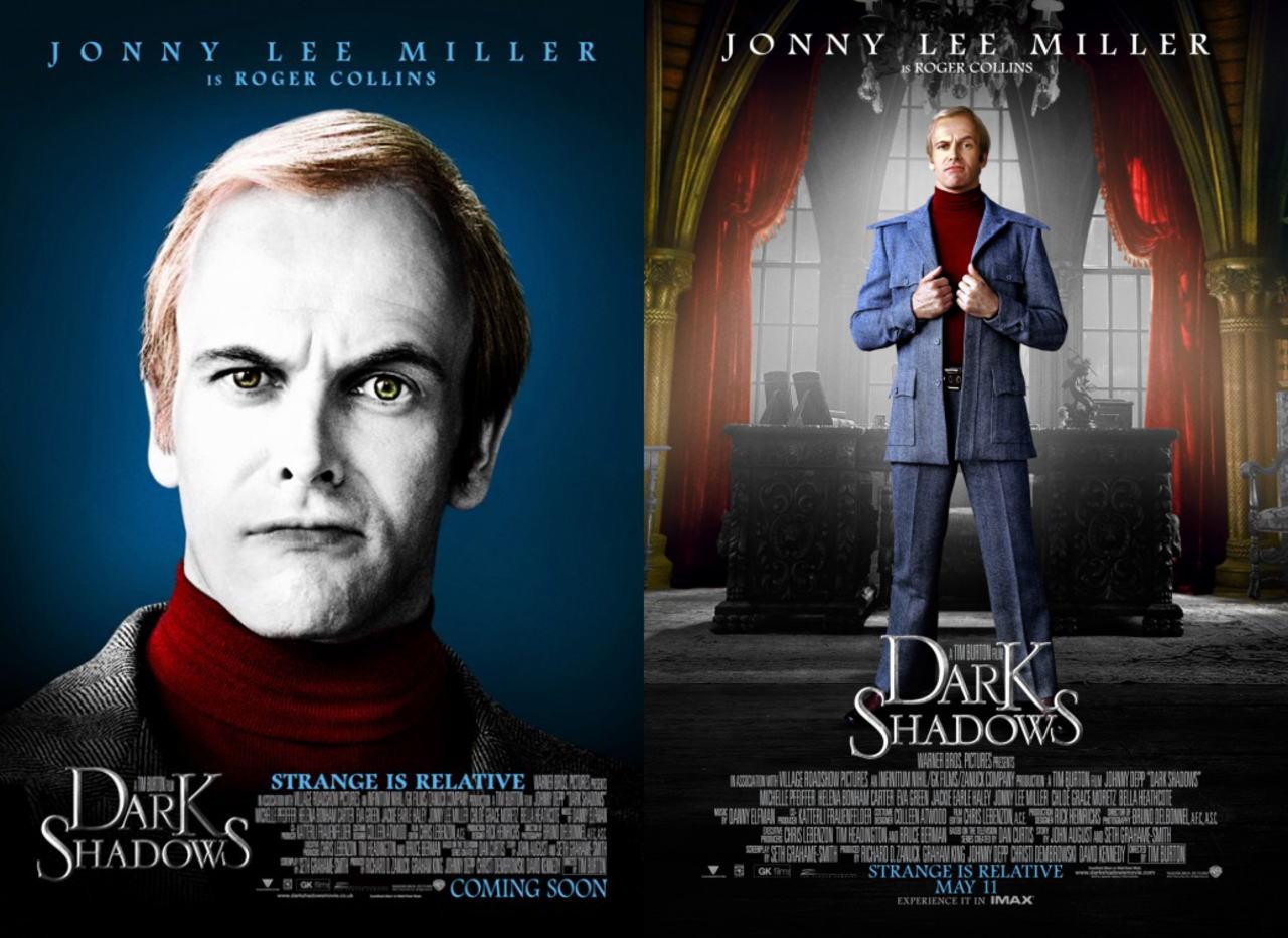 映画『ダーク・シャドウ DARK SHADOWS』ポスター(6) ▼ポスター画像クリックで拡大します。