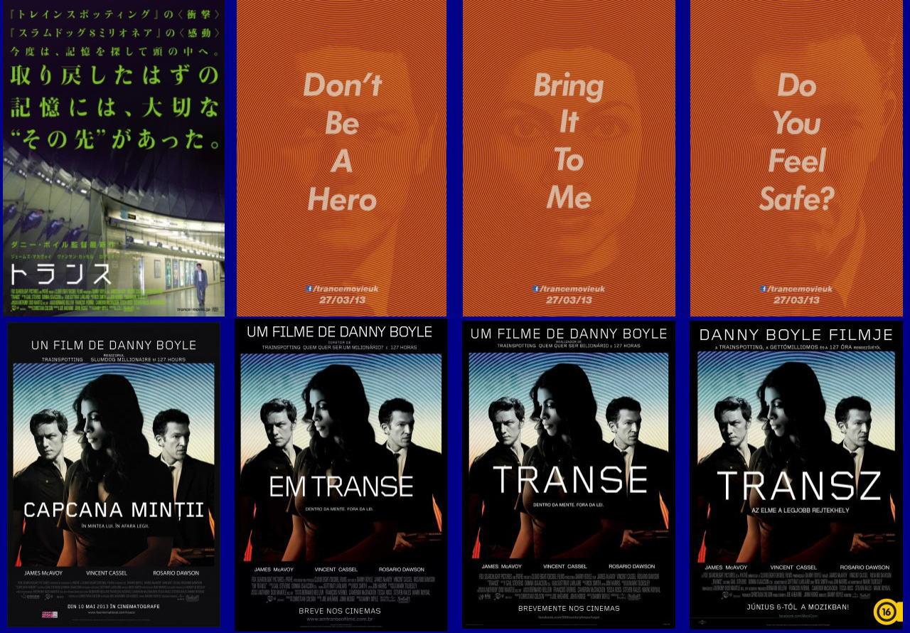 映画『トランス (2013) TRANCE』ポスター(7)▼ポスター画像クリックで拡大します。