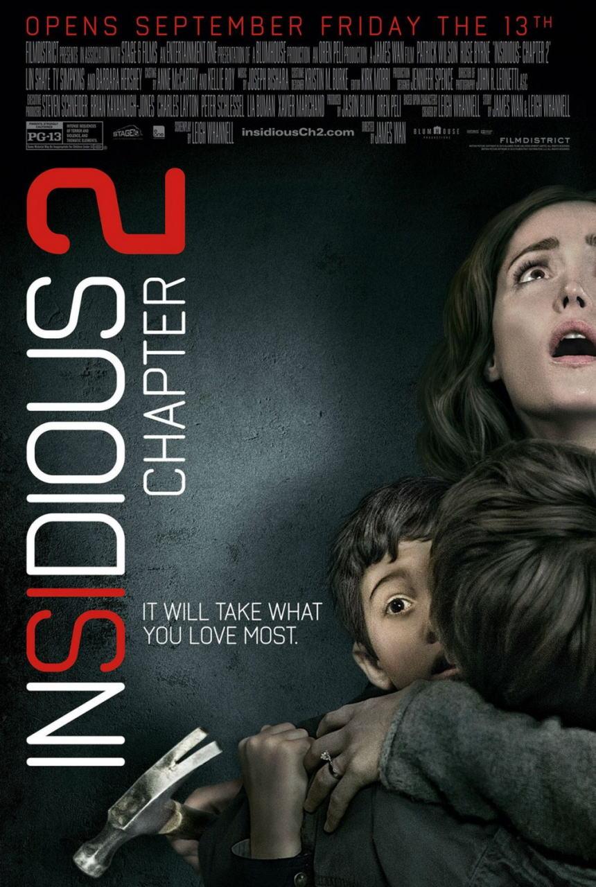 映画『インシディアス 第2章 (2013) INSIDIOUS: CHAPTER 2』ポスター(1)▼ポスター画像クリックで拡大します。