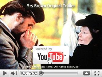 ※クリックでYouTube『Queen Victoria 至上の恋 MRS. BROWN』予告編へ