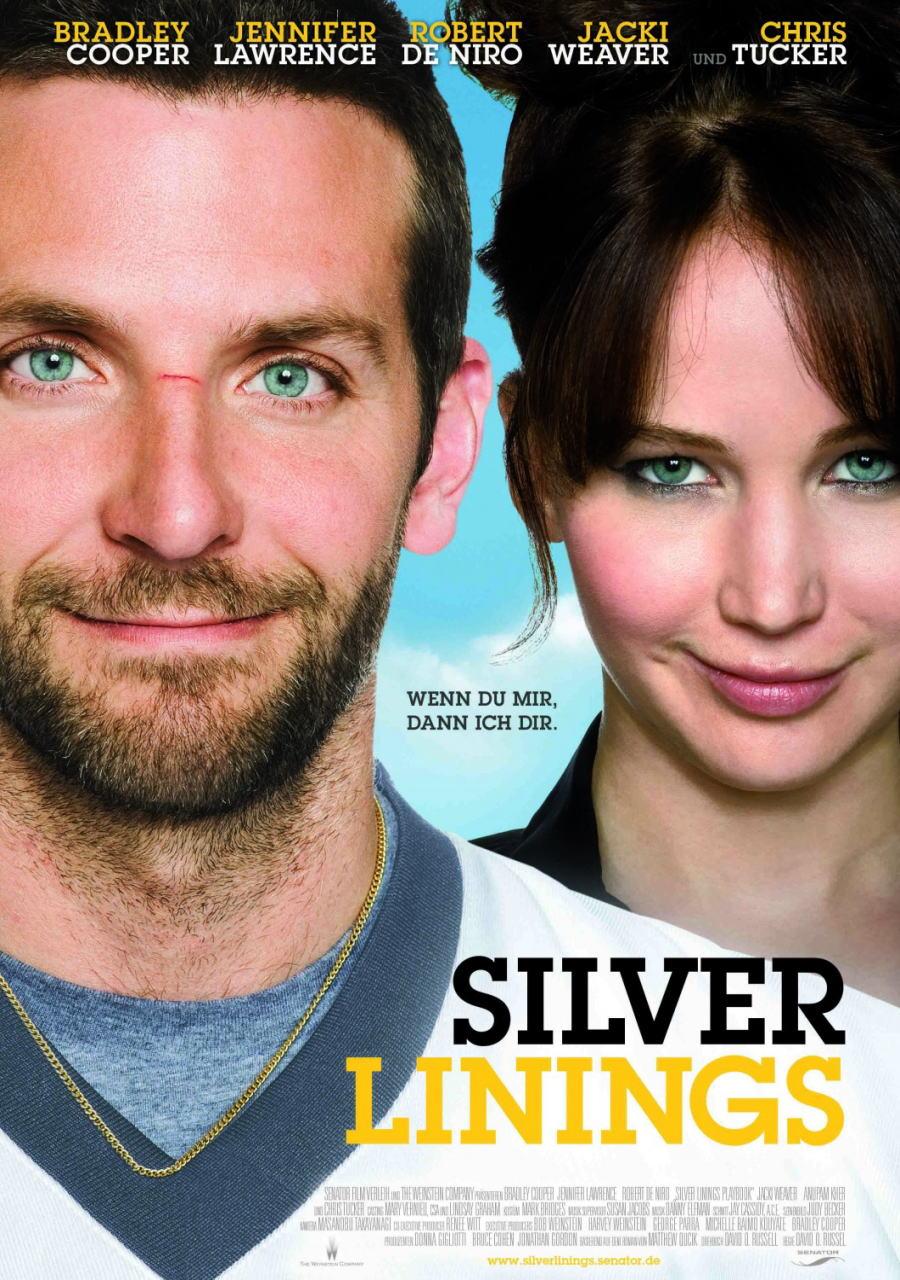 映画『世界にひとつのプレイブック SILVER LININGS PLAYBOOK』ポスター(3) ▼ポスター画像クリックで拡大します。