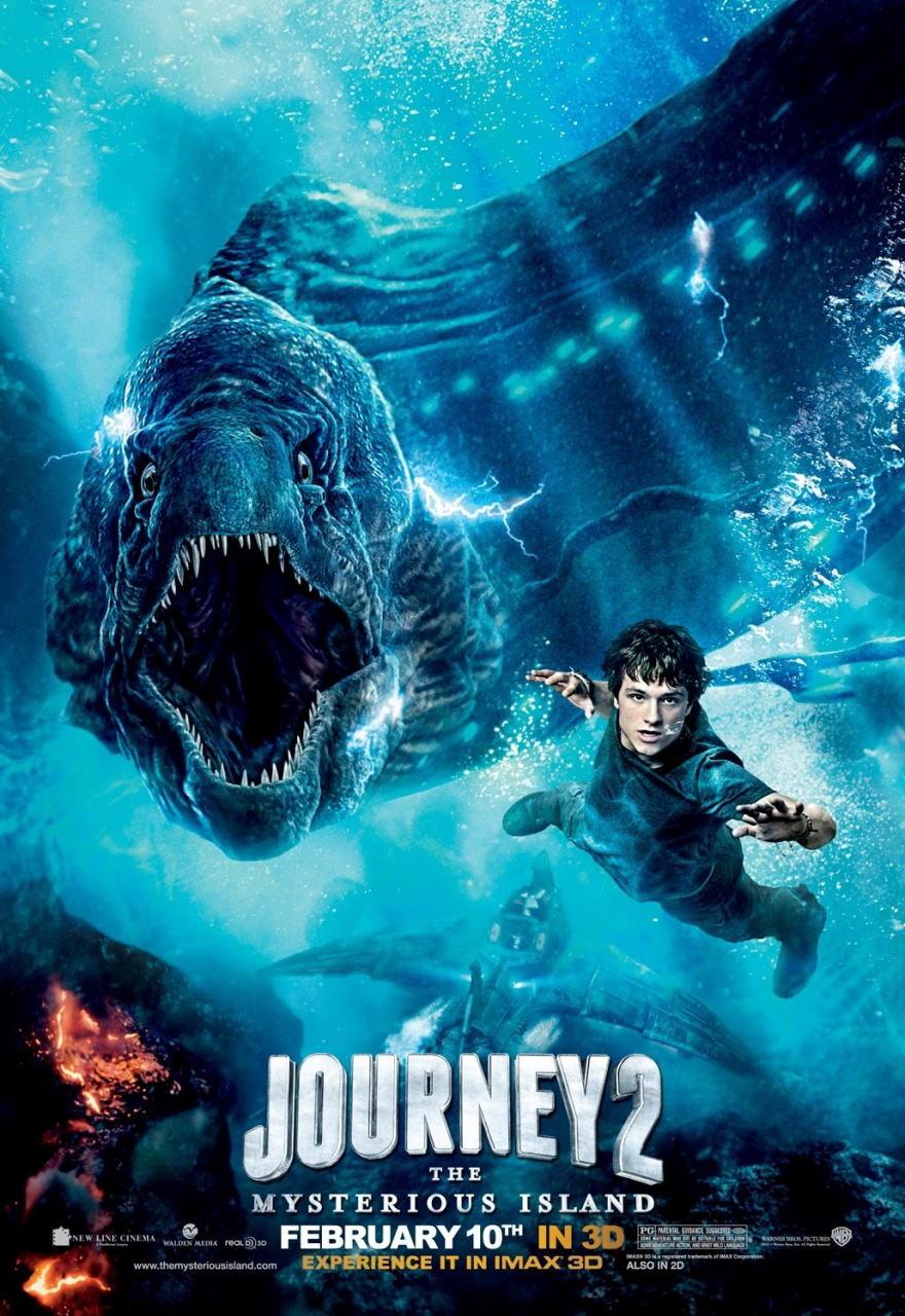 映画『センター・オブ・ジ・アース2 神秘の島 JOURNEY 2: THE MYSTERIOUS ISLAND』ポスター(3)