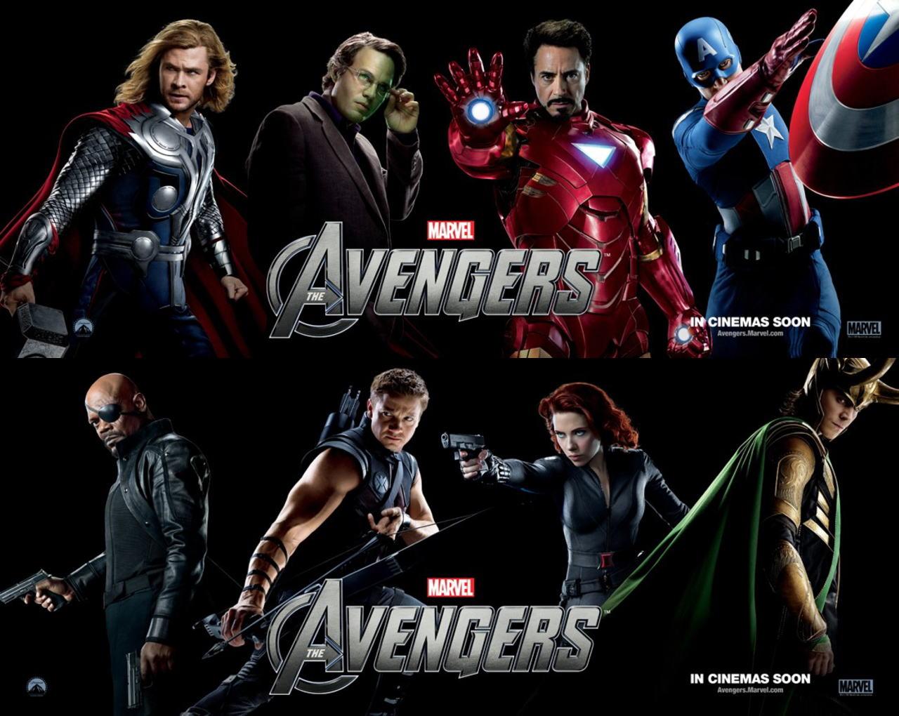 映画『アベンジャーズ THE AVENGERS』ポスター(8)▼ポスター画像クリックで拡大します。