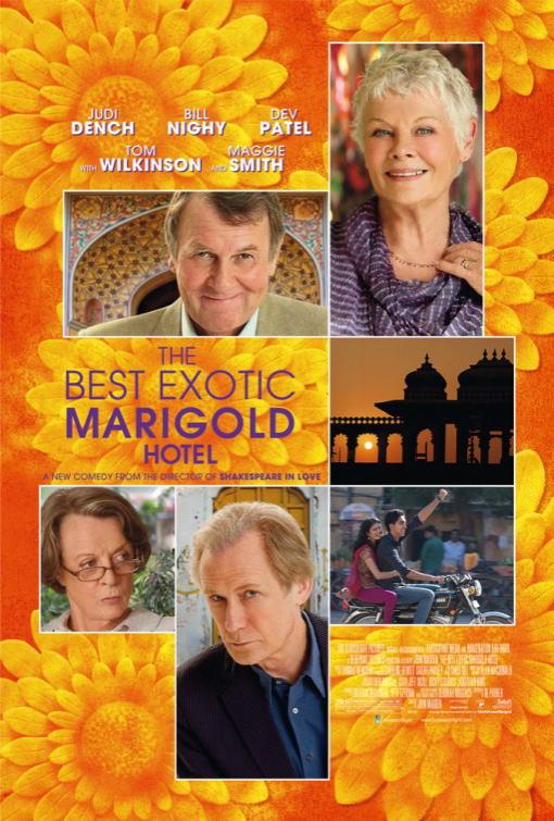 映画『マリーゴールド・ホテルで会いましょう THE BEST EXOTIC MARIGOLD HOTEL』ポスター(5)▼ポスター画像クリックで拡大します。