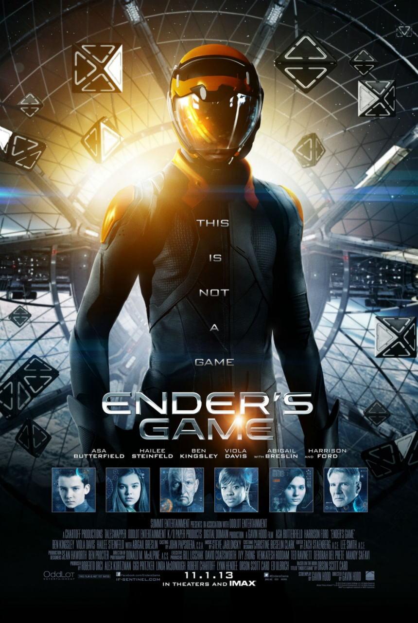 映画『エンダーのゲーム (2013) ENDER'S GAME』ポスター(1)▼ポスター画像クリックで拡大します。