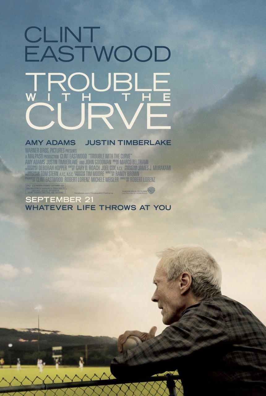 映画『人生の特等席 TROUBLE WITH THE CURVE』ポスター(1) ▼ポスター画像クリックで拡大します。