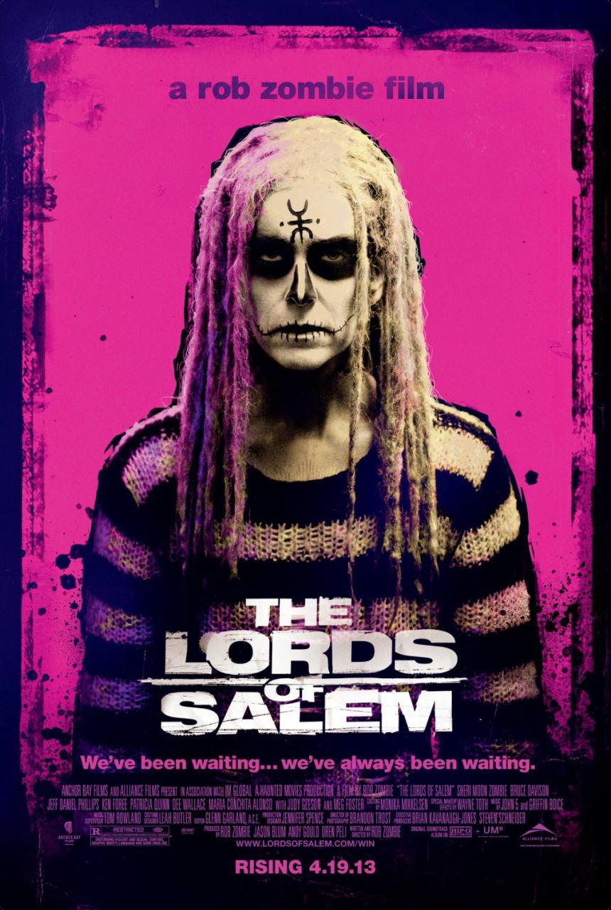 映画『ロード・オブ・セイラム (2012) THE LORDS OF SALEM』ポスター(3) ▼ポスター画像クリックで拡大します。