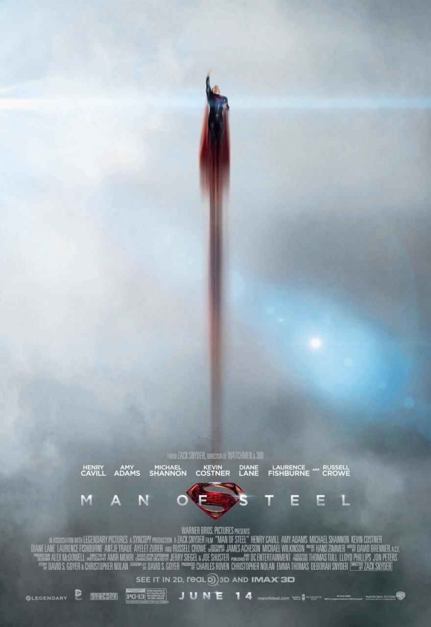 映画『マン・オブ・スティール (2013) MAN OF STEEL』ポスター(5) ▼ポスター画像クリックで拡大します。