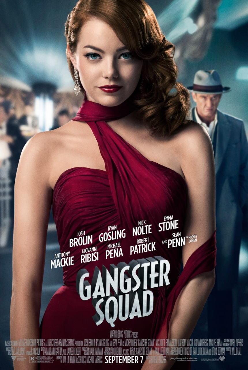 映画『L.A. ギャング ストーリー (2012) GANGSTER SQUAD』ポスター(4) ▼ポスター画像クリックで拡大します。
