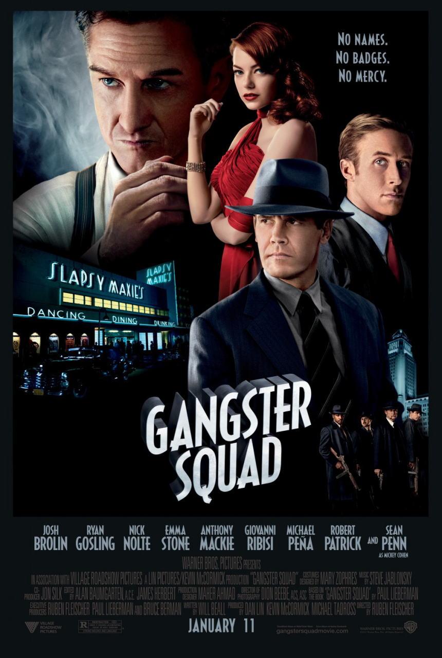 映画『L.A. ギャング ストーリー (2012) GANGSTER SQUAD』ポスター(6) ▼ポスター画像クリックで拡大します。