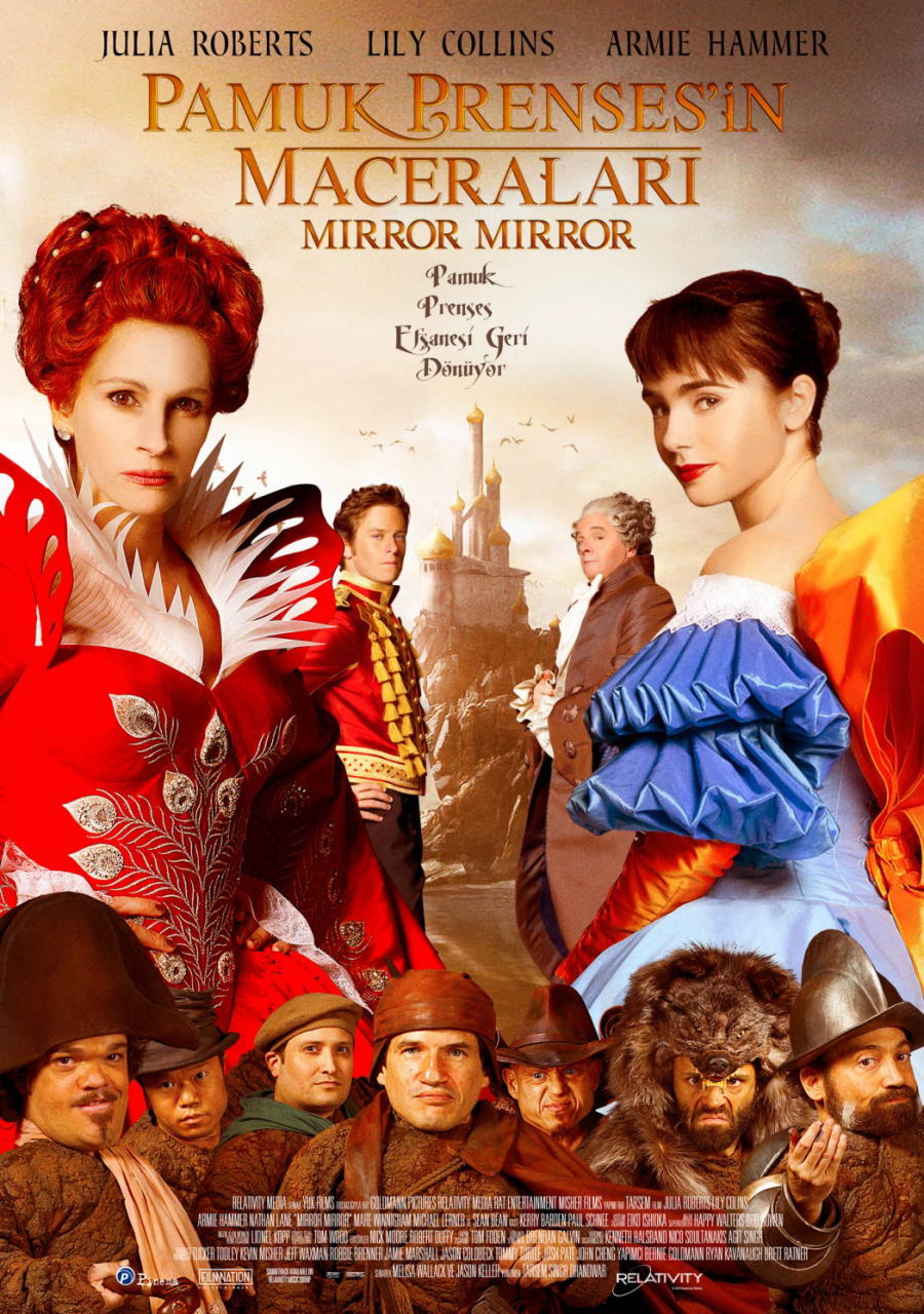 映画『白雪姫と鏡の女王 MIRROR MIRROR』ポスター(7) ▼ポスター画像クリックで拡大します。