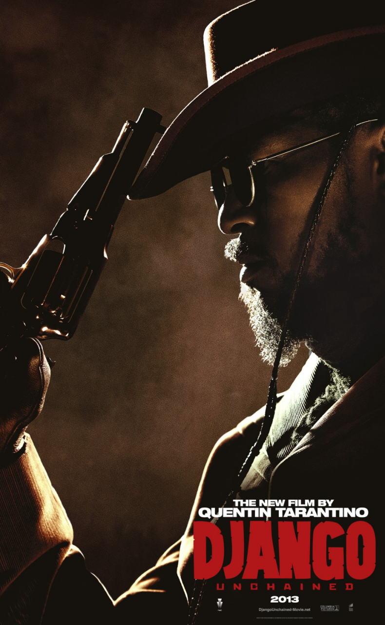 映画『ジャンゴ 繋がれざる者 (2012) DJANGO UNCHAINED』ポスター(3) ▼ポスター画像クリックで拡大します。