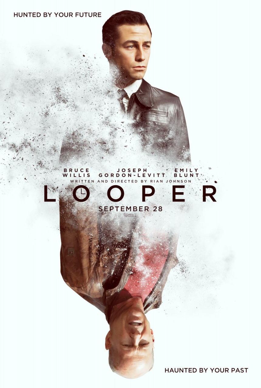 映画『LOOPER/ルーパー LOOPER』ポスター(1)▼ポスター画像クリックで拡大します。