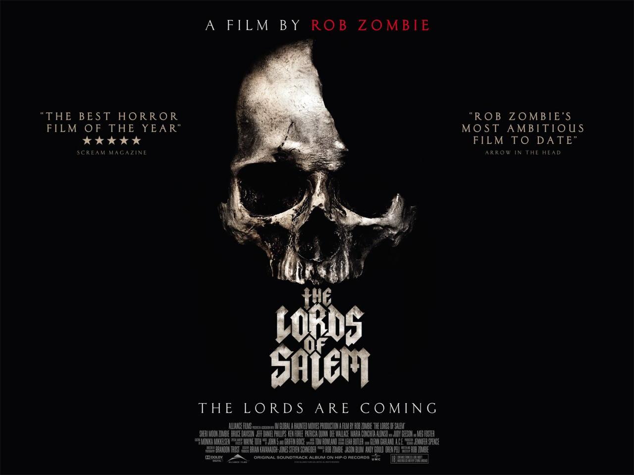 映画『ロード・オブ・セイラム (2012) THE LORDS OF SALEM』ポスター(4)▼ポスター画像クリックで拡大します。