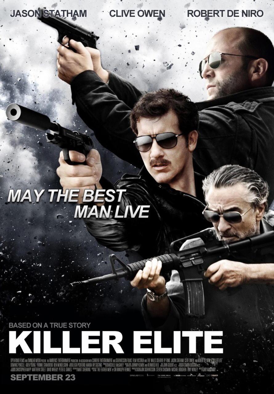 映画『キラー・エリート KILLER ELITE』ポスター(4) ▼ポスター画像クリックで拡大します。